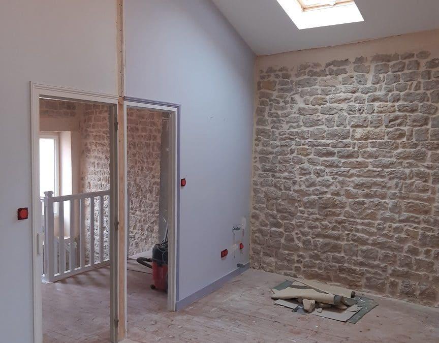 Rénovation électrique pour une nouvelle cuisine à l'ile de Ré-La Flotte