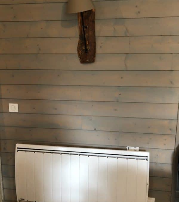 Installation de radiateurs a inertie Noirot Fusion 1500w et Calidou 2000w.