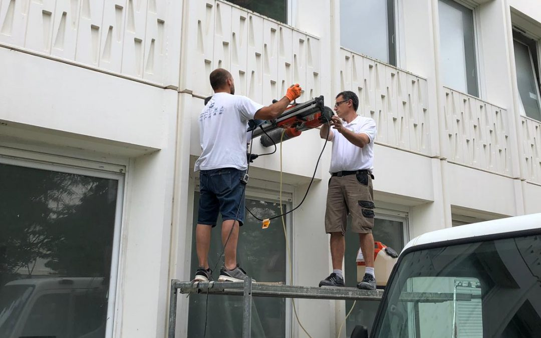 Installation d'une VMC à l'IUT de La Rochelle aux minimes