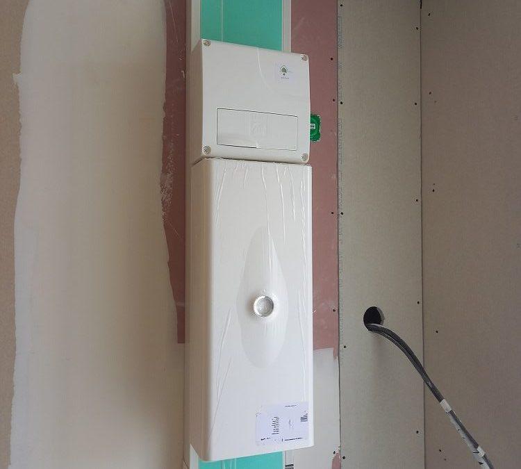 Rénovation électrique sur un chantier à Saint-Martin-de-Ré