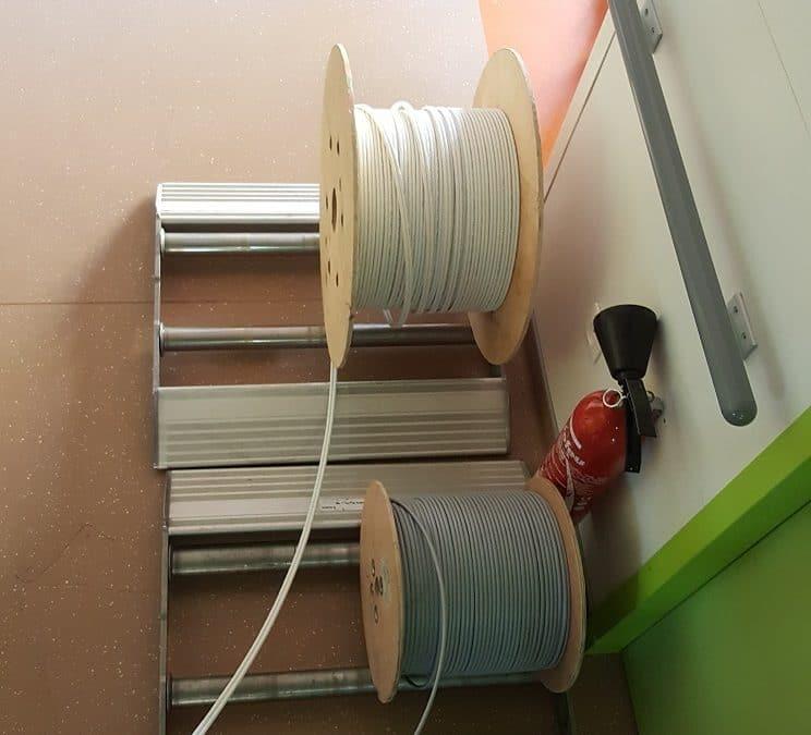 Travaux d'électricité courant faible et courant fort pour ce début de semaine