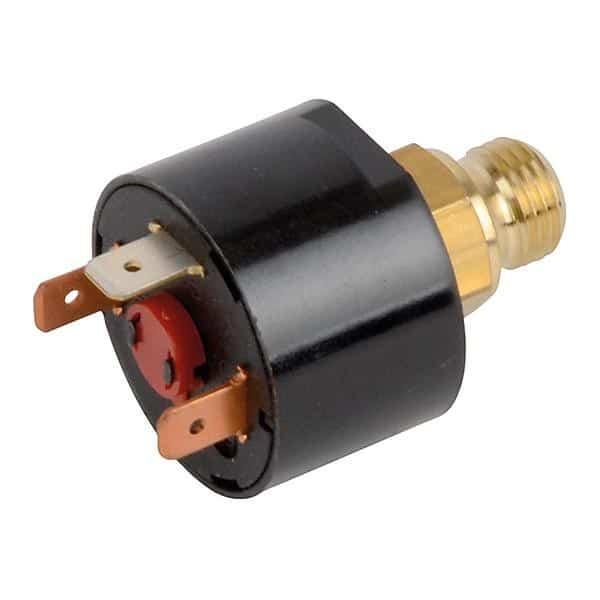 Dépannage électricité et remplacement d'un pressostat pour chauffage